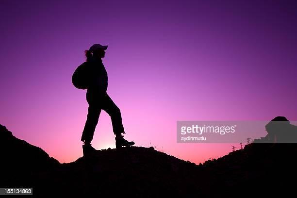 Wenn Sie die Berggipfel