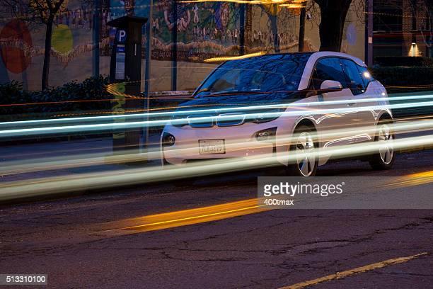 bmw reachnow carsharing - bmw stock-fotos und bilder