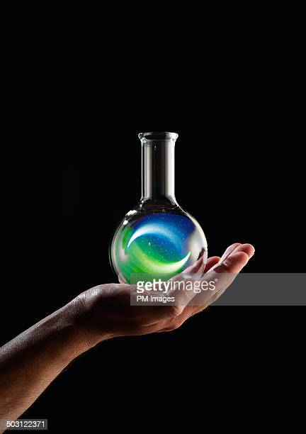 Reaction In A Flask