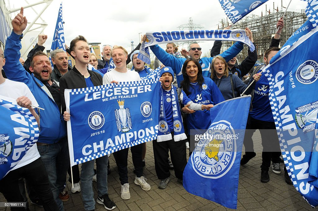 Reactions to Leicester City's Premier League Title Success : News Photo