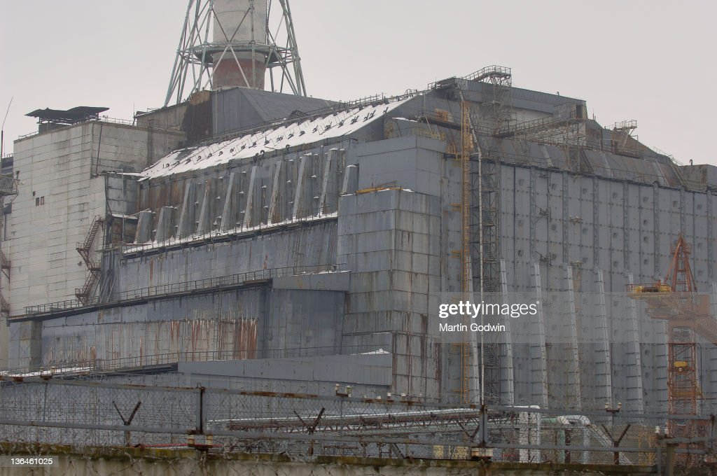 Reactor 4 chernobyl pictures getty images reactor no4 at the chernobyl nuclear power plant encased in its concrete sarcophagus freerunsca Images