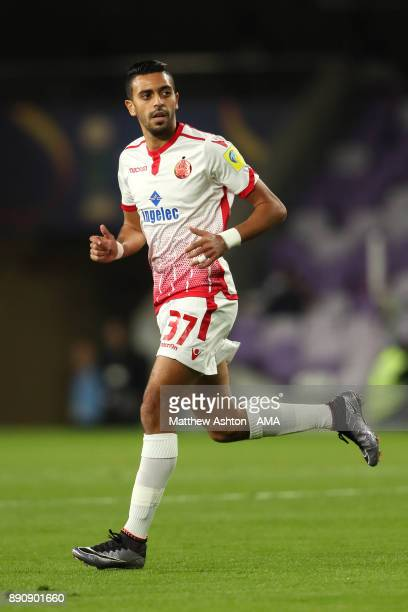 Read Hajhouj of Wydad Casablanca in action during the FIFA Club World Cup UAE 2017 fifth place playoff match between Wydad Casablanca and Urawa Red...