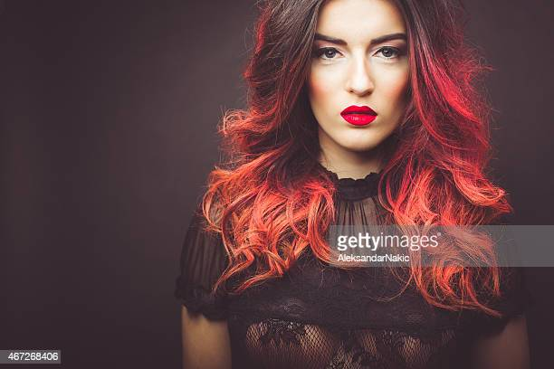 Red hair highlights photos getty images readhead voltagebd Images