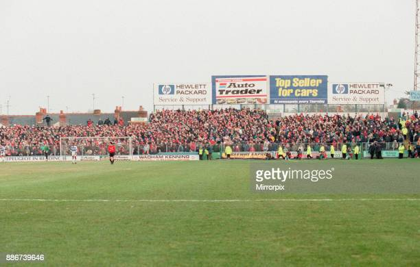 Reading 03 Manchester United FA Cup 4th Round match at Elm Park Saturday 27th January 1996