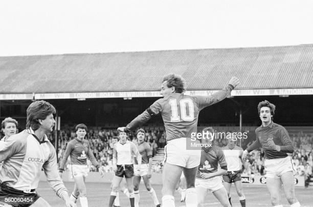 Reading 1-0 Bolton, league division three match at Elm Park, Saturday 5th October 1985, 11 league wins in a row.