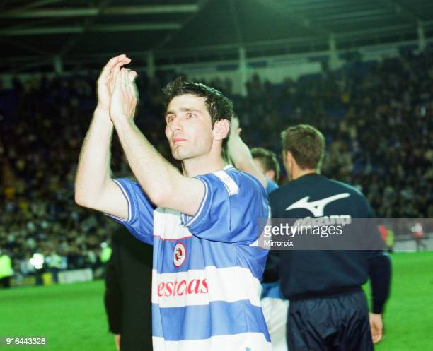 Reading 2-1 Wigan Athletic, League Division 2, Play off semi final, 2nd leg, Madejski Stadium, Wednesday 16th May 2001. Reading win 2-1 on aggregate.