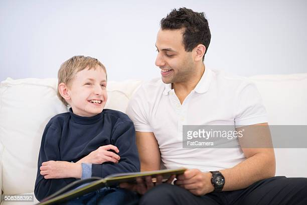 Reading a Book with a Child