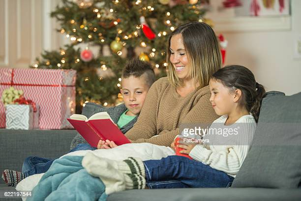 Reading a Christmas Story