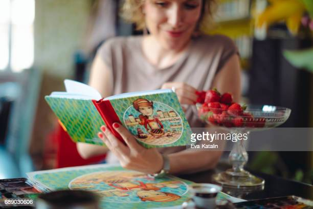 Reading a cookbook