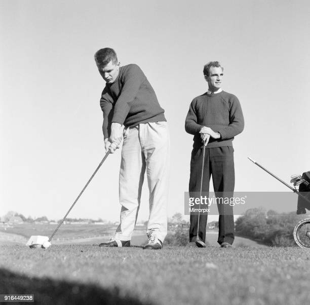Reading FC 1959/60 Football Players 11th November 1959 Playing Golf ID To Be Confirmed