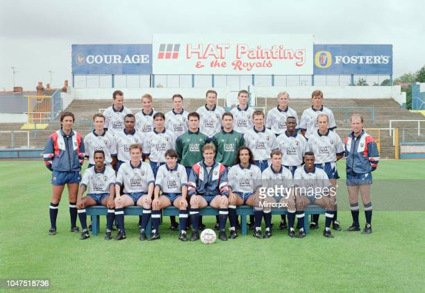 Reading FC 1991/92, pre-season photocall at Elm Park, Tuesday 6th August 1991, picture shows top row, 2nd left, Brendan Rodgers, defender aged 18...