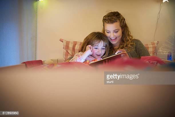 reading for little sister