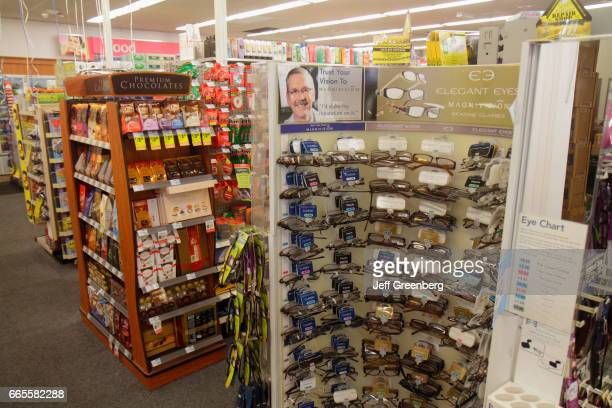 Reading glasses for sale in CVS Pharmacy.