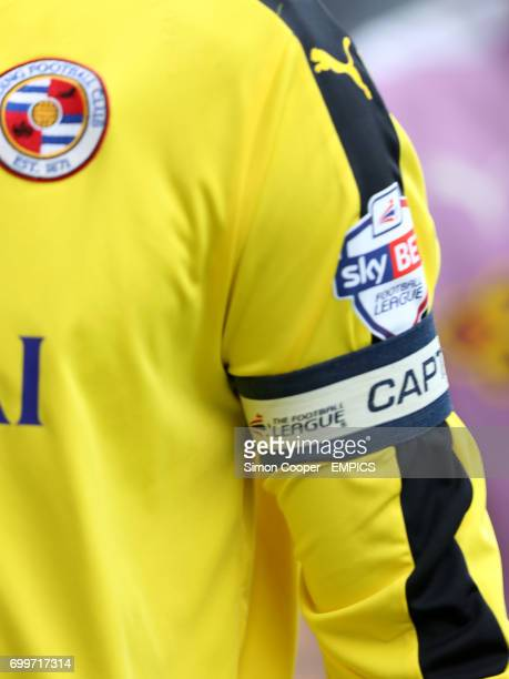 Reading goalkeeper Ali Al Habsi wearing the captain's armband