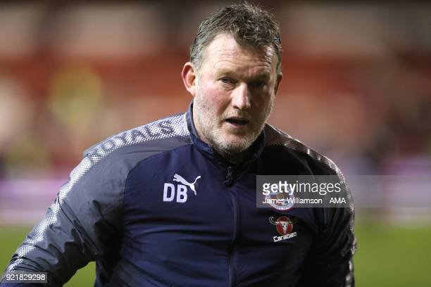 Reading goalkeeping coach Dave Beasant during the Sky Bet Championship match between Nottingham Forest and Reading at City Ground on February 20 2018...