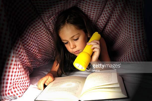 Reading hidden under covers