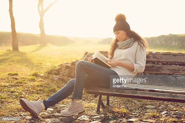 Reading in my park