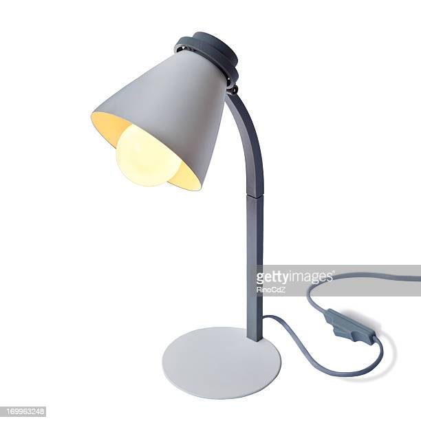 Lampe de lecture sur blanc
