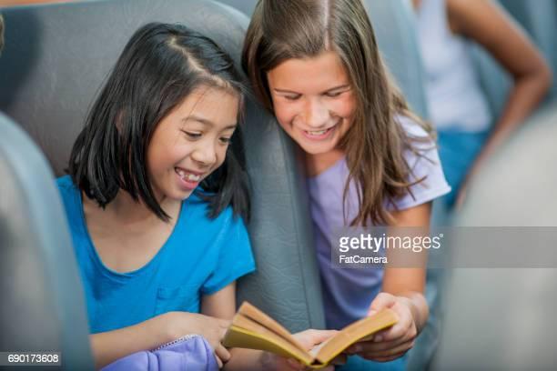 Reading on the School Bus