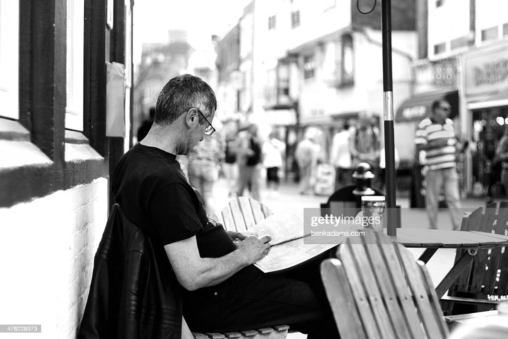 Reading : Stock Photo