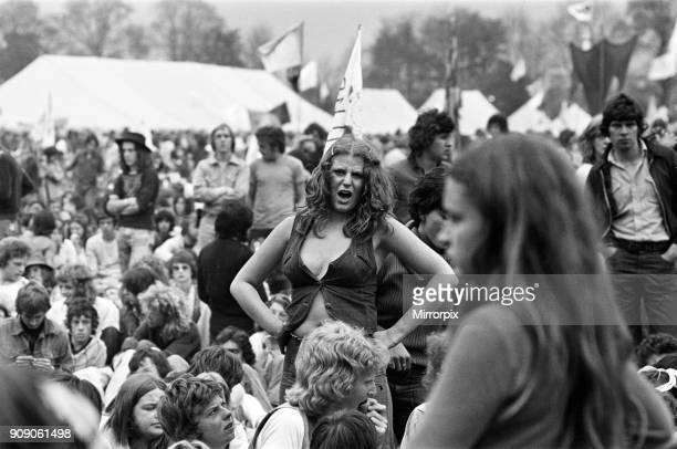 Reading Pop festival. Berkshire, August 1975.