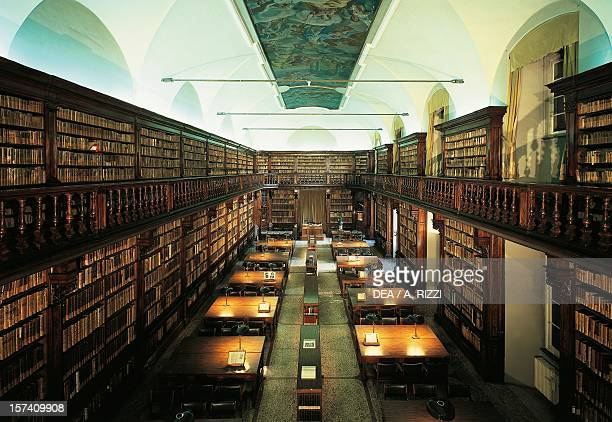 Reading Room also known as Theological Room Braidense National Library Milan Italy 18th century