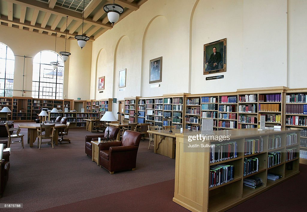 pretty cool sleek official shop A reading room is seen at the Cecil H. Green Library on the ...