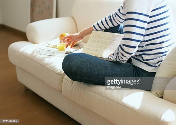 Reading Scene