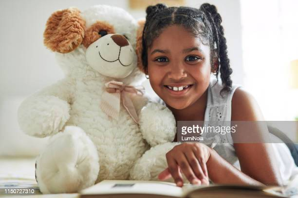 reading should be a pleasurable activity - teddy bear stock pictures, royalty-free photos & images