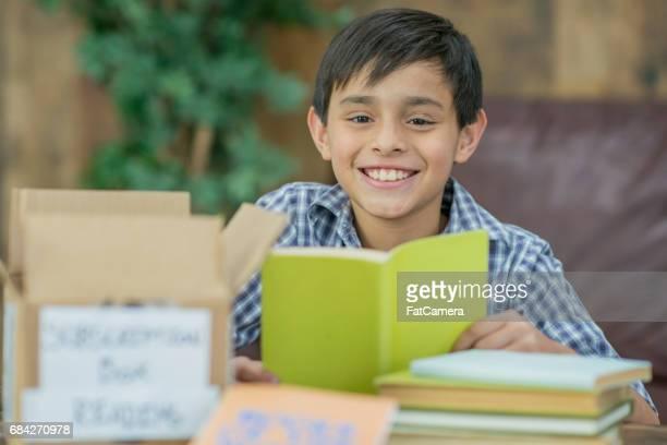 lendo os livros do mês - só um menino - fotografias e filmes do acervo