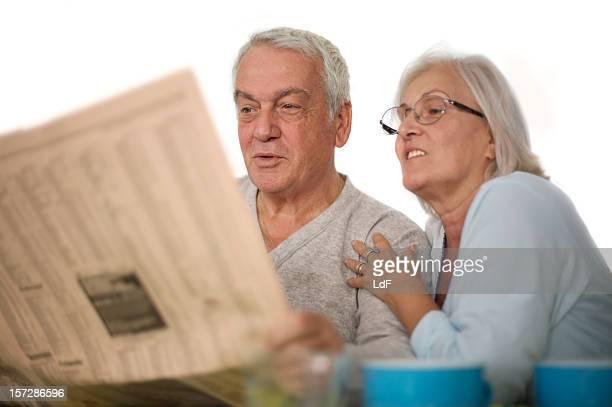 Lesen der Nachrichten