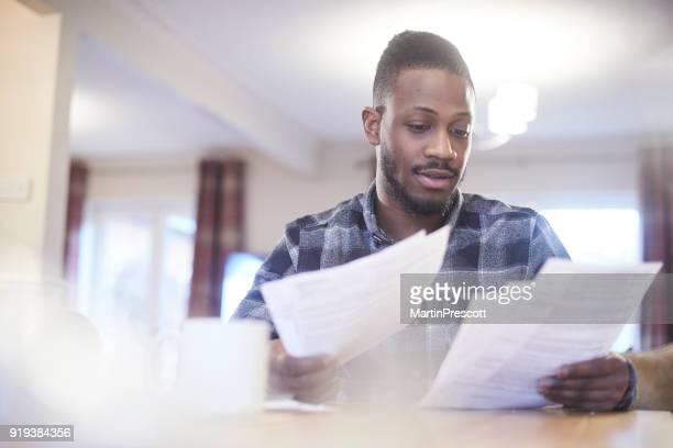 Reading through energy bills
