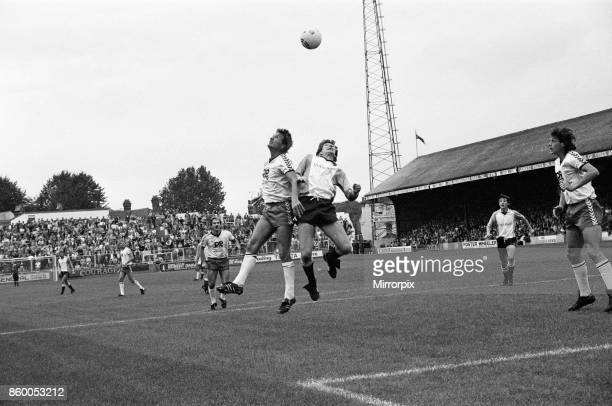 Reading v Swansea City, League Division Three, final score 2-0 to Reading, 21st September 1985.