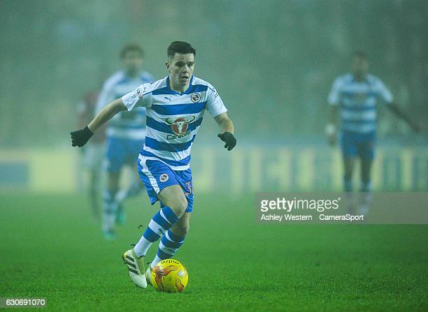 Reading's Liam Kelly in action during the Sky Bet Championship match between Reading and Fulham at Madejski Stadium on December 30 2016 in Reading...