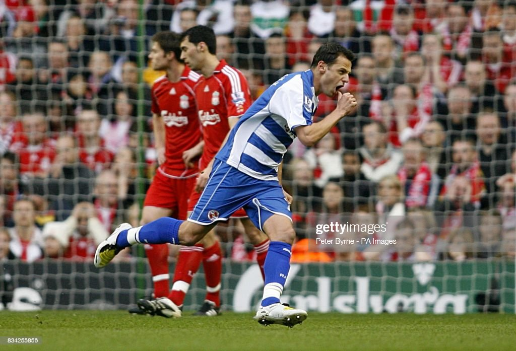 Soccer - Barclays Premier League - Liverpool v Reading - Anfield : News Photo