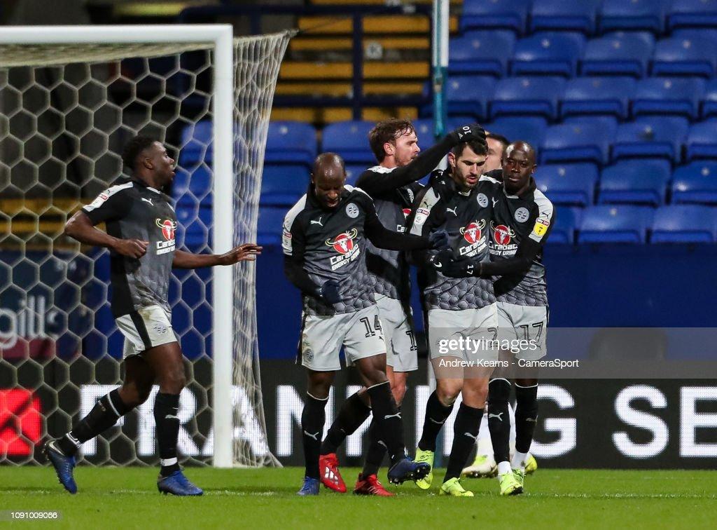 Bolton Wanderers v Reading - Sky Bet Championship : News Photo