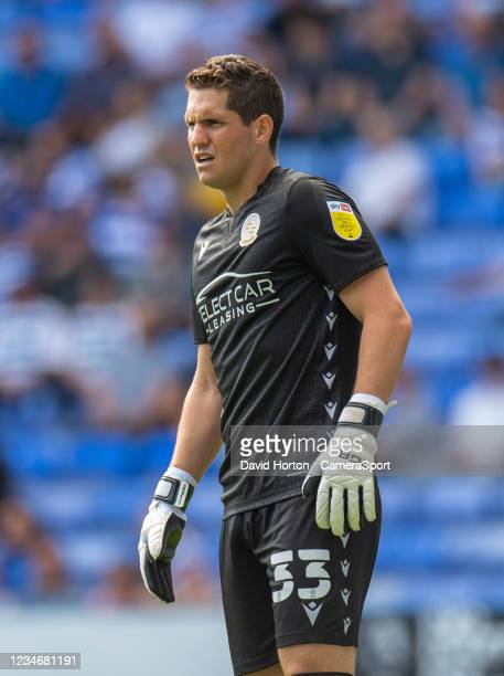 Reading's Rafael during the Sky Bet Championship match between Reading and Preston North End at Madejski Stadium on August 14, 2021 in Reading,...