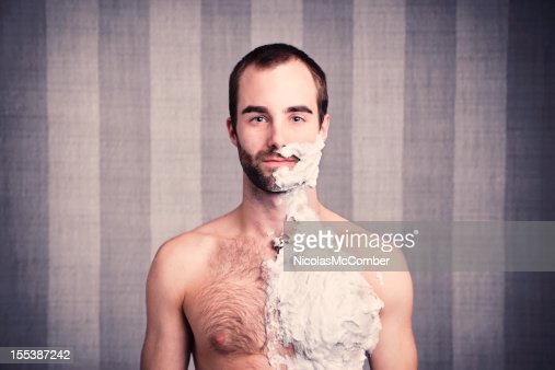 ready for a big shave stock photo getty images