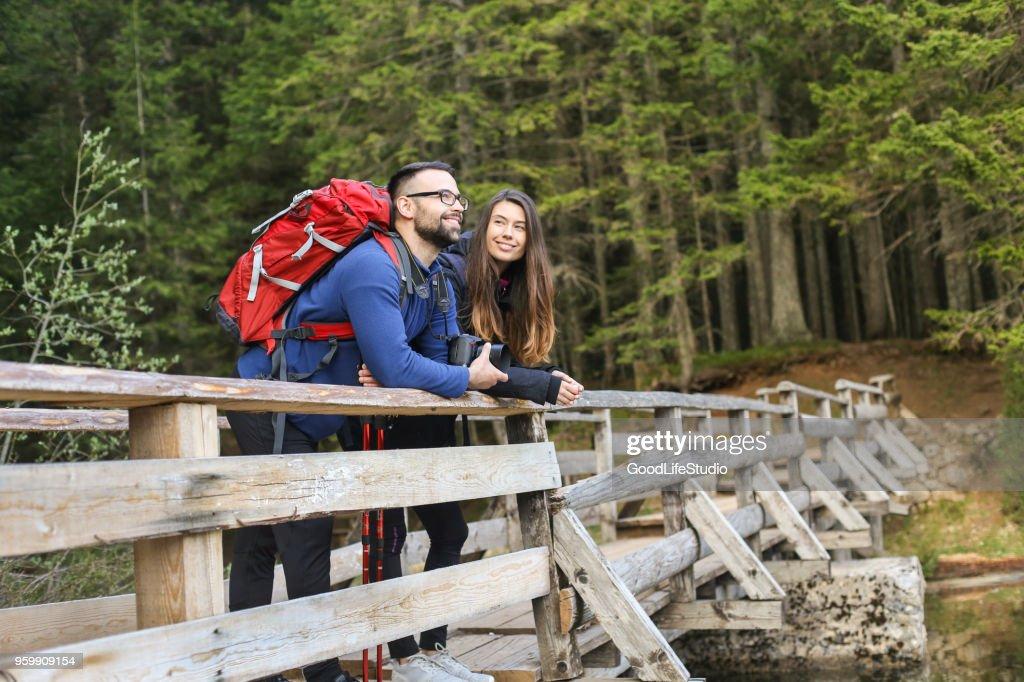 Bereit für Abenteuer : Stock-Foto