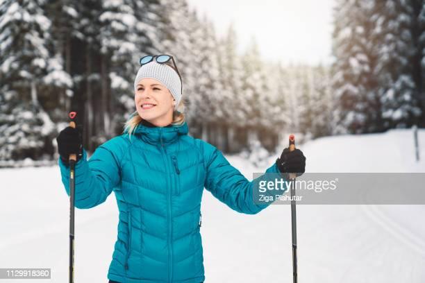 Bereit für ein weiteres Abenteuer im schönen Wintermärchen