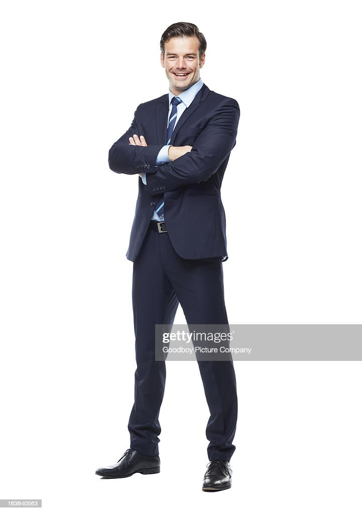 Ready for anything in the corporate world! : Stock Photo