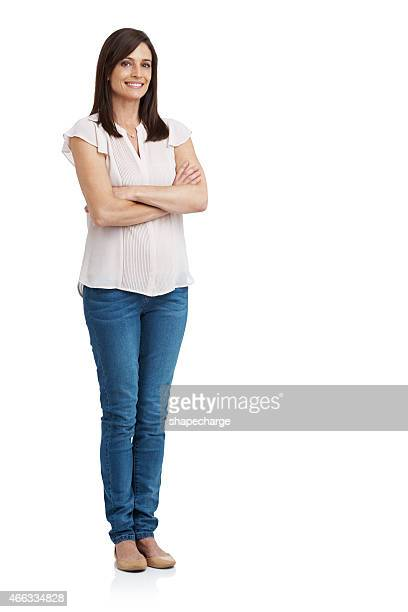 ready for anything - white pants stock pictures, royalty-free photos & images