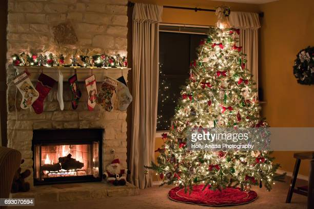 ready for christmas - christmas tree stock pictures, royalty-free photos & images