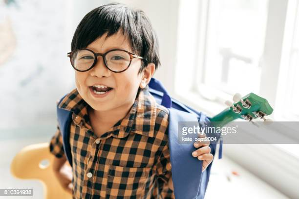 ready for school - eyeglasses stock photos and pictures