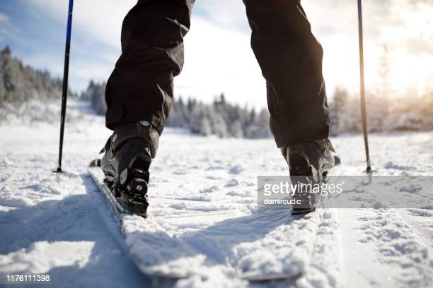 ready for skiing - damircudic stock photos and pictures