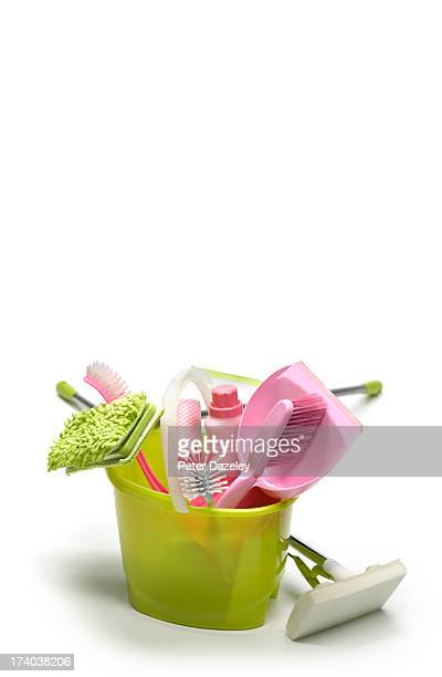 ready for spring cleaning - daily bucket stock pictures, royalty-free photos & images