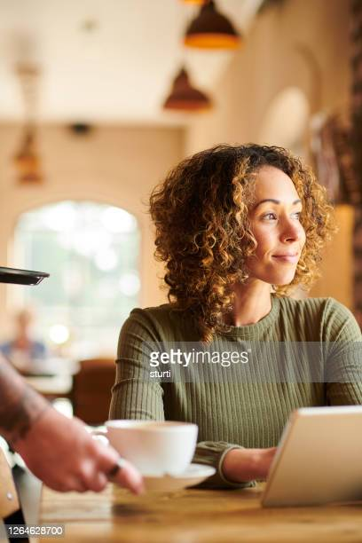 ready for the day - internet cafe stock pictures, royalty-free photos & images
