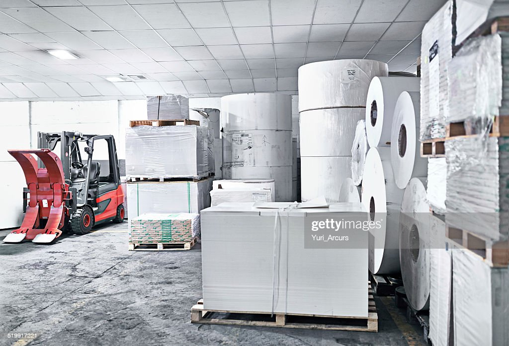 Ready for the presses : Stock Photo