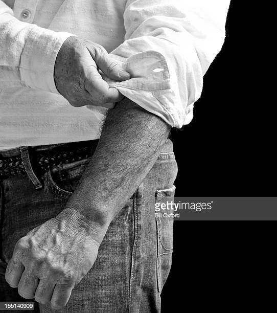 ready for work - rolled up sleeves stock pictures, royalty-free photos & images