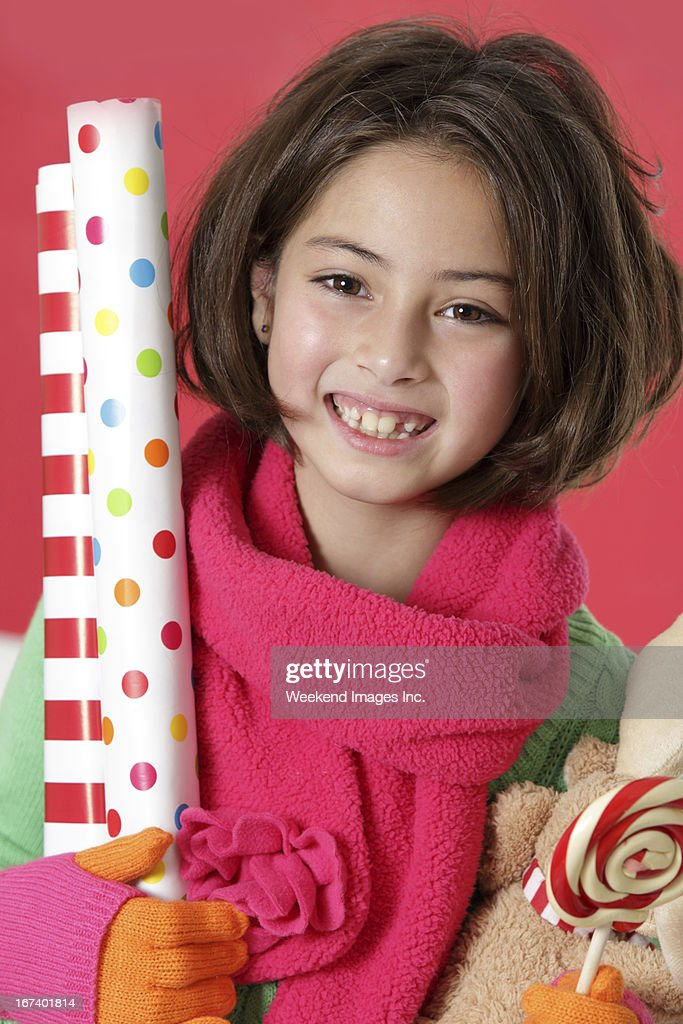 Ready for wrap the gifts : Stock Photo